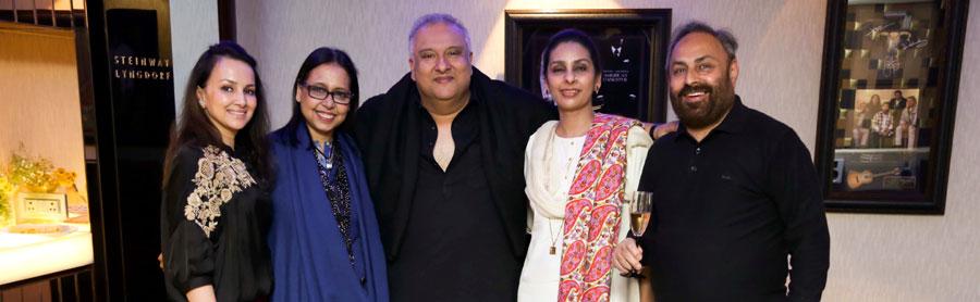 Anju,Shujaat Khan, Praveen & Meet