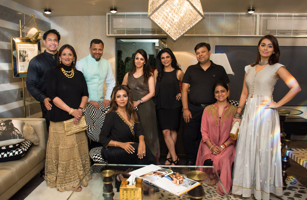 Participants with Gauri Khan, Promila Bahri & Shivani Ahluwalia